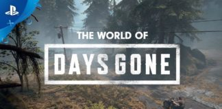 The world of Days Gone