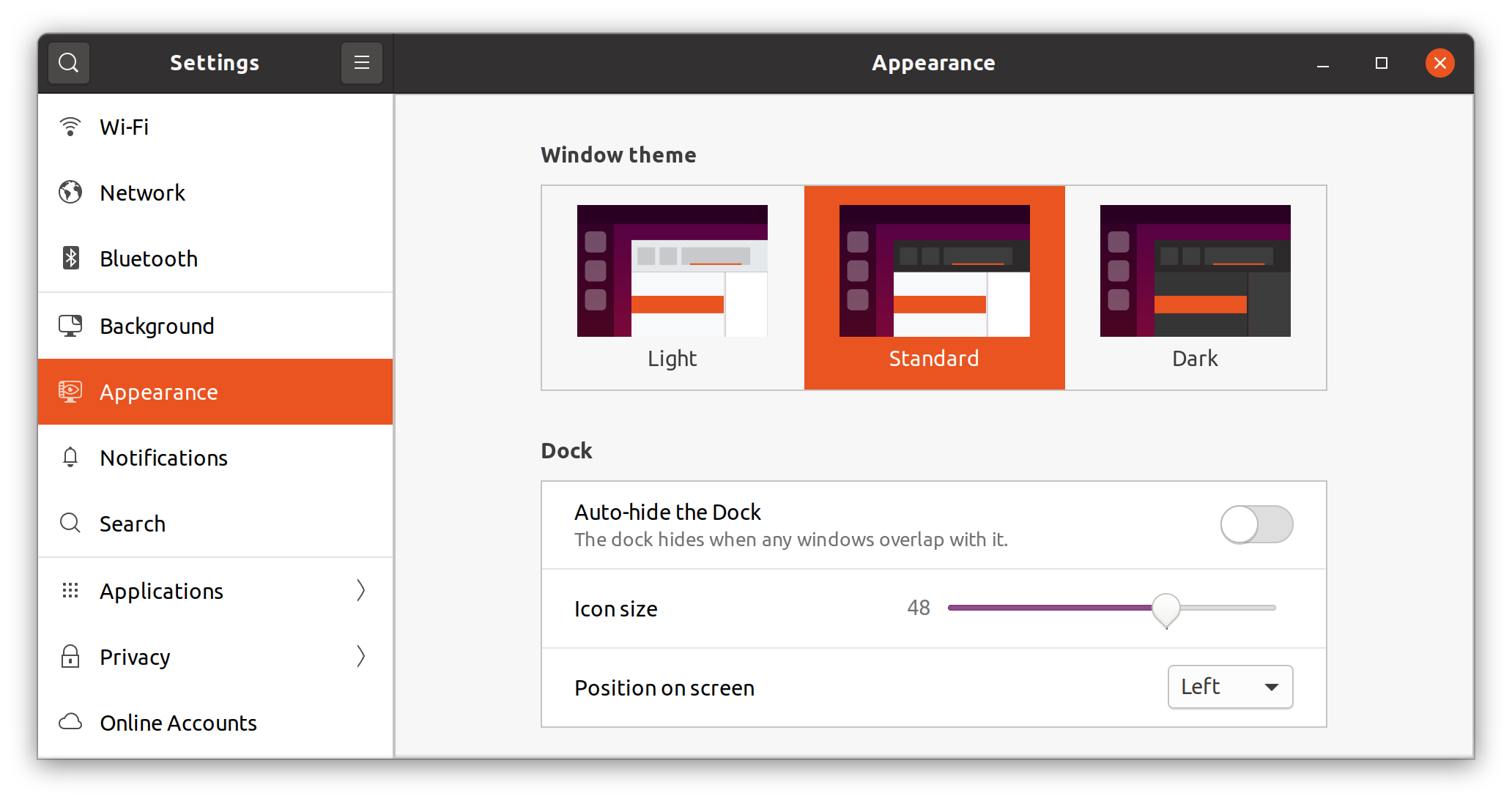 Ubuntu - Yaru